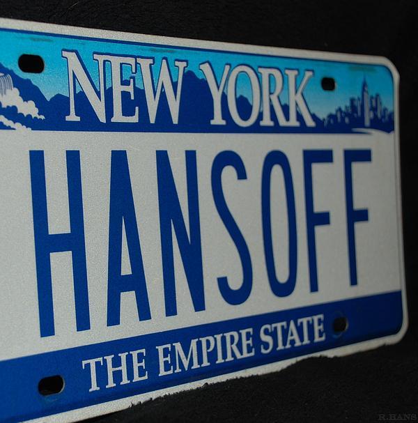 Hans Off Print by Rob Hans