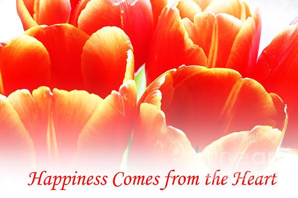 Happiness Print by Lj Lambert