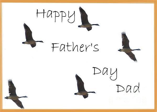 Happy Father's Day Dad Print by Dessie Durham