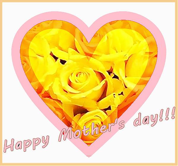 Happy Mother S Day Print by Ingrid Stiehler