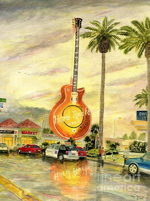 Melly Terpening - Hard Rock Cafe Las Vegas
