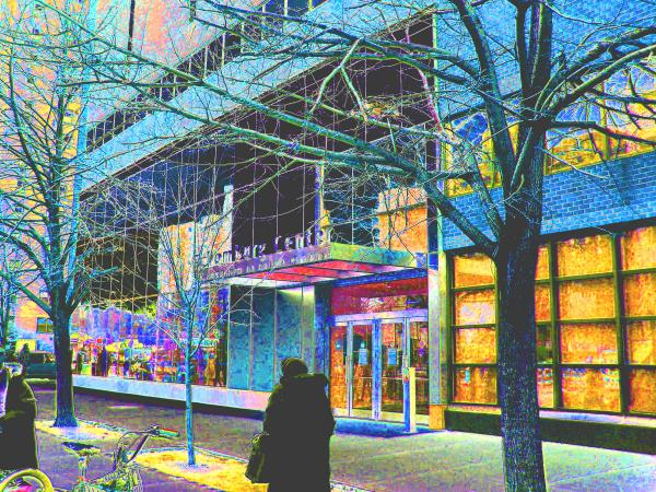 Harlem Street Scene  Print by Steven Huszar