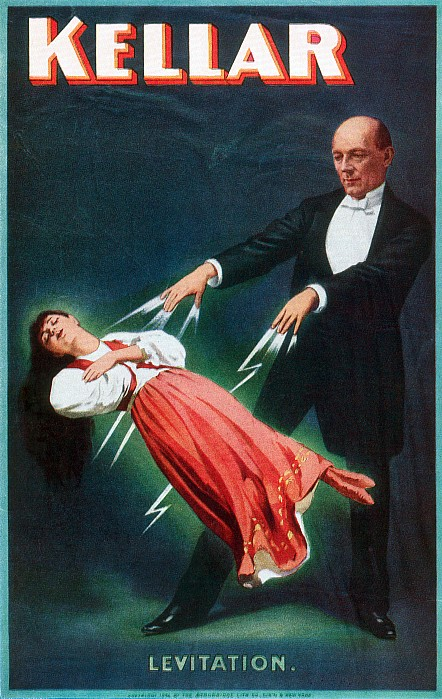 Harry Kellar (1849-1922) Print by Granger