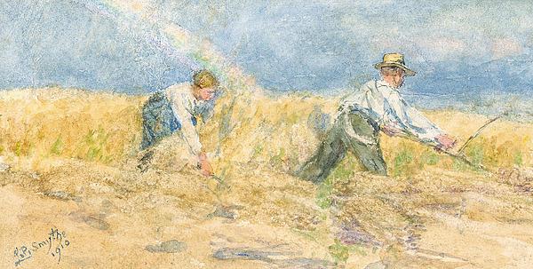 Harvester Print by LP Smythe