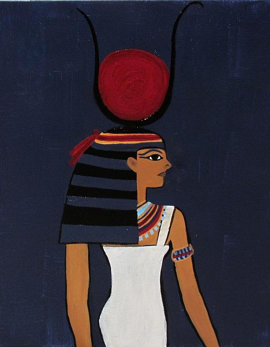 Hathor Print by Diana Martinez