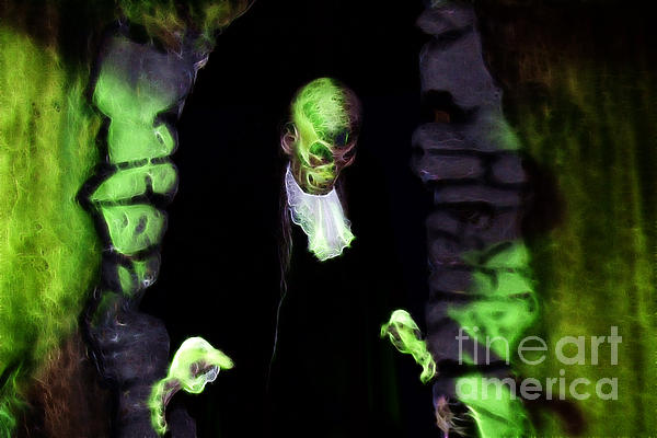 Haunted Butler Print by Darleen Stry