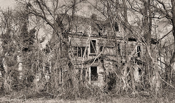 Haunting In Delmarva Print by JC Findley