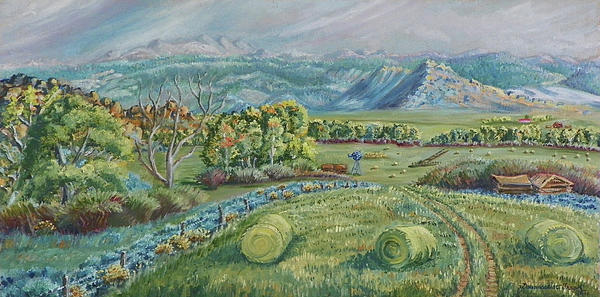 Dawn Senior-Trask - Haying Time in the Valley