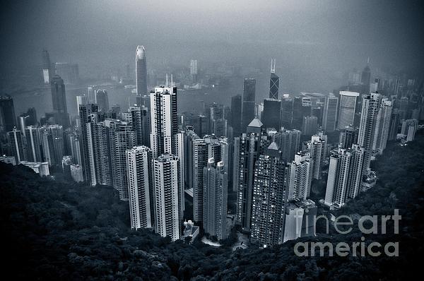 Hazy Hong Kong Print by Venetta Archer