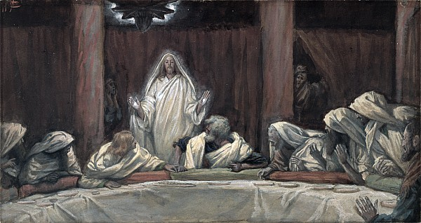 He Appeared To The Eleven Print by Tissot