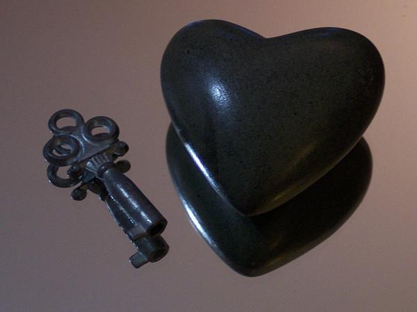 He Gave Me His Heart Print by Anna Villarreal Garbis