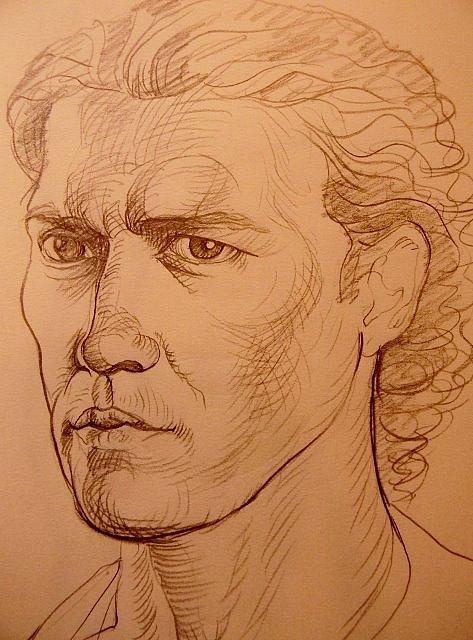 Deliara Yesieva - Head Sketch
