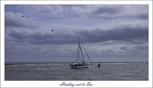 Heading Out To Sea Print by Nigel Jones