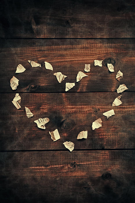 Heart Print by Joana Kruse