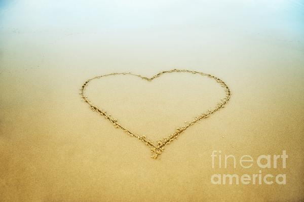 Heart Print by John Greim