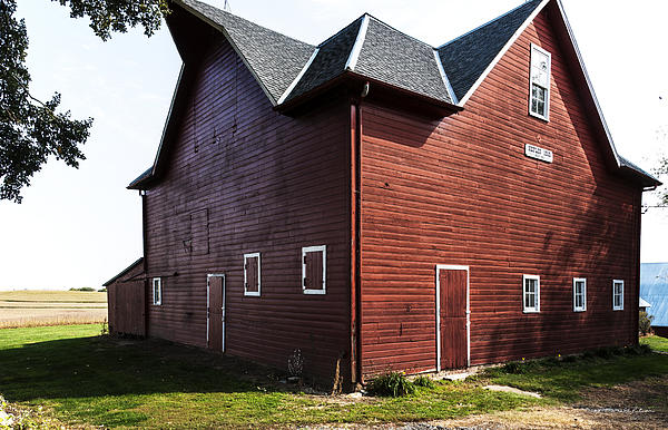 Heflin Barn Photograph