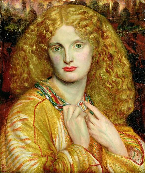 Helen Of Troy Print by Dante Charles Gabriel Rossetti