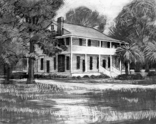 Kevin Lawrence Leveque - Henning House Sketch
