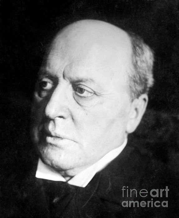Henry James, American-born British Print by Photo Researchers