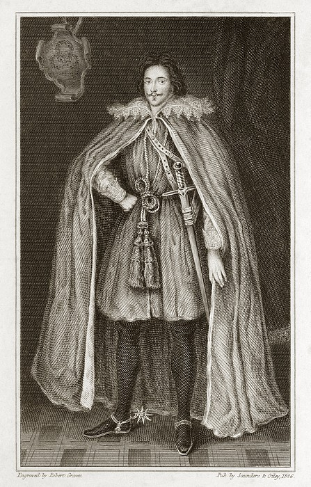 Herbert Of Cherbury, English Philosopher Print by Middle Temple Library