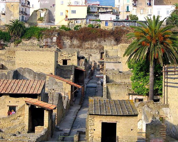 Carla Parris - Herculaneum Ruins