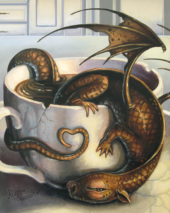 Alyssa Parsons - Here be Dragons