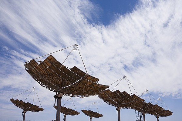 Hermansburg Solar Energy Receiver Array Print by Stephen Alvarez