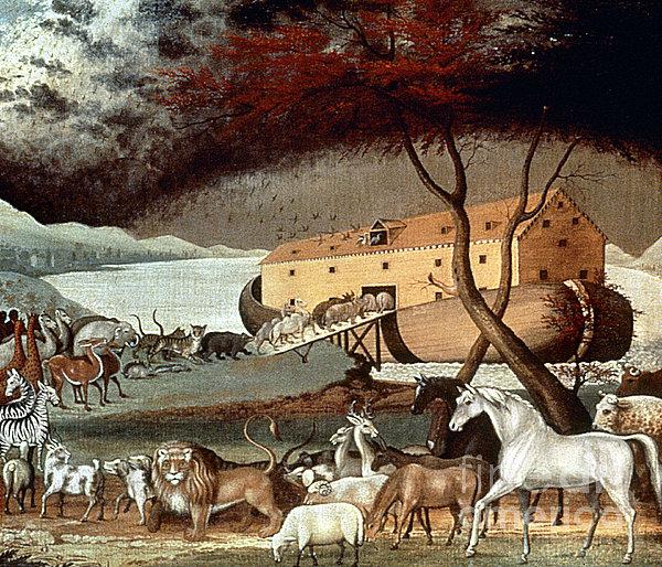 Hicks: Noahs Ark, 1846 Print by Granger