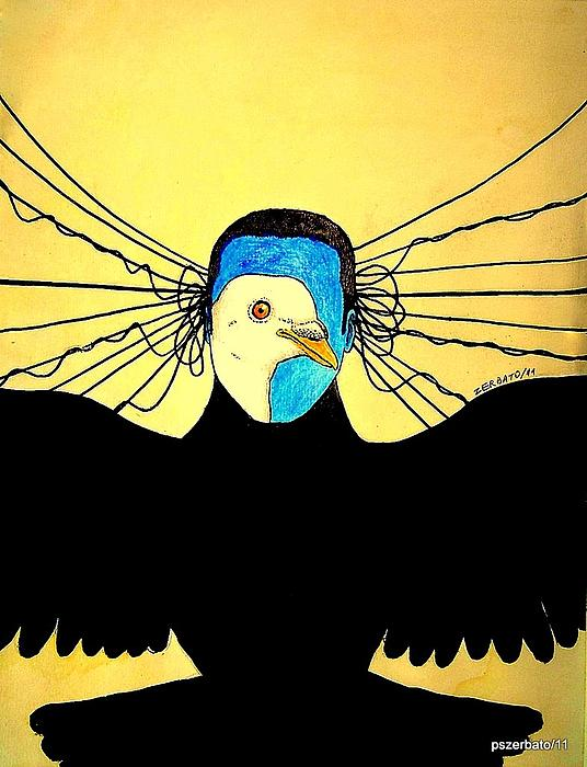 Hidden Face Of Prisons Print by Paulo Zerbato
