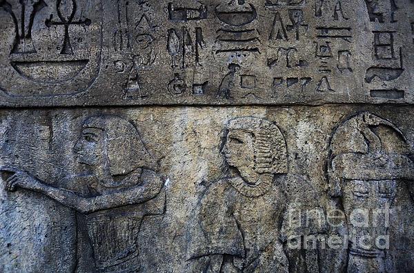 Hieroglyphs Print by Lee Dos Santos