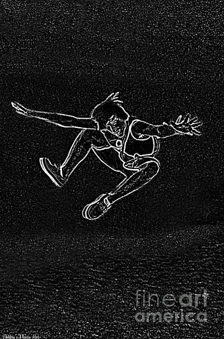 Debbie Portwood - High Jump II