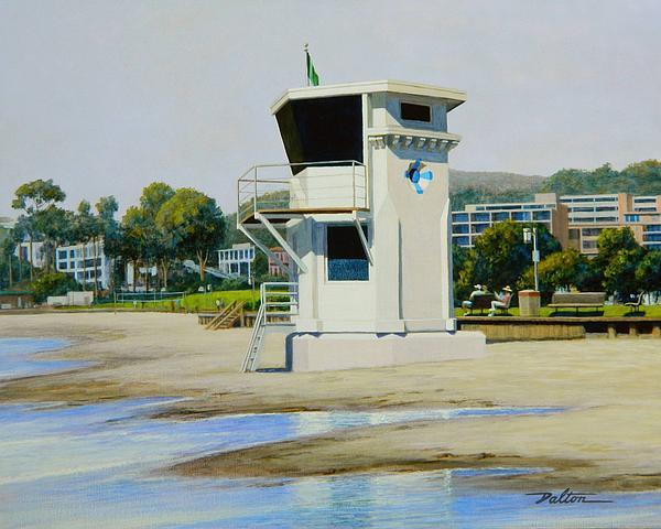High Tide Laguna Print by Frank Dalton