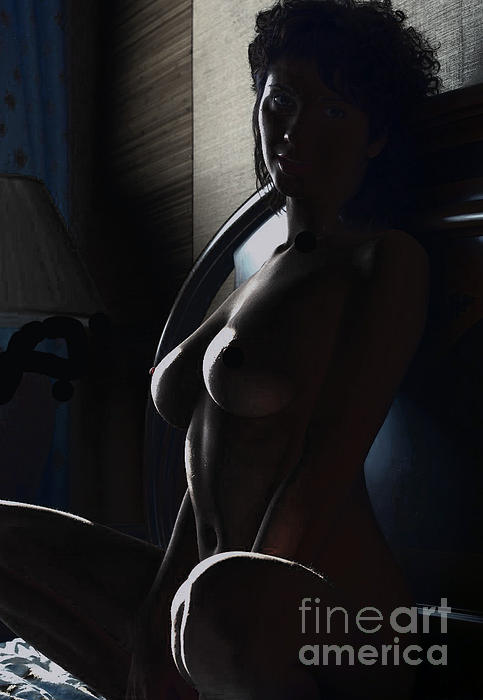 Highlights Of A Nude Print by Robert Daniels