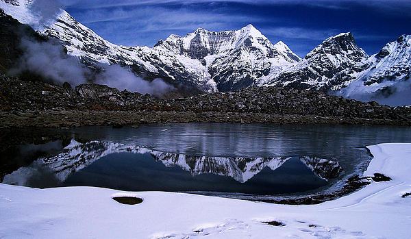 Himalayas Print by Greg Palmer