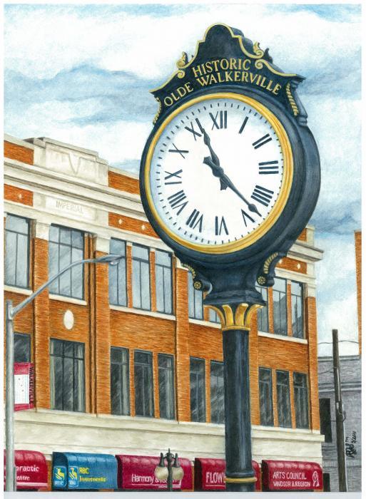 Rebecca Steelman - Historic Olde Walkerville Clock