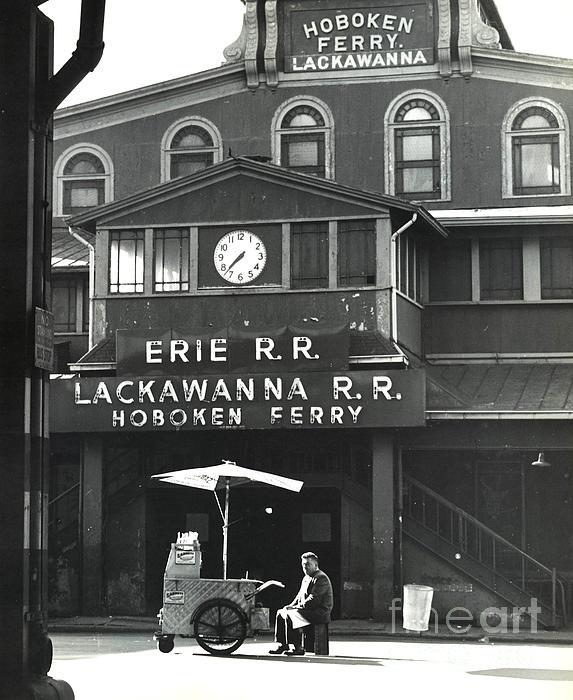 Hoboken Ferry C1966 Print by Erik Falkensteen