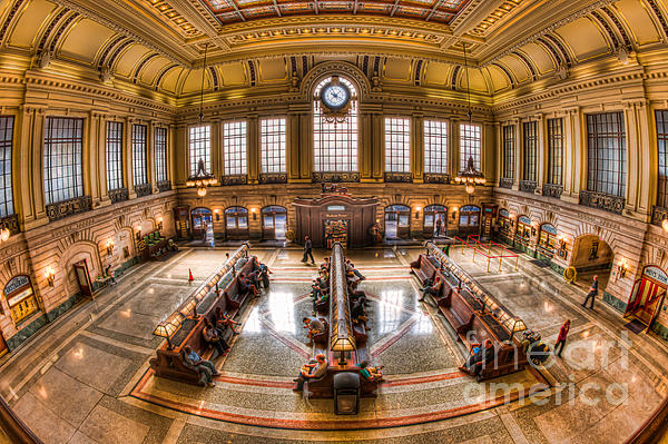 Clarence Holmes - Hoboken Terminal Main Waiting Room I