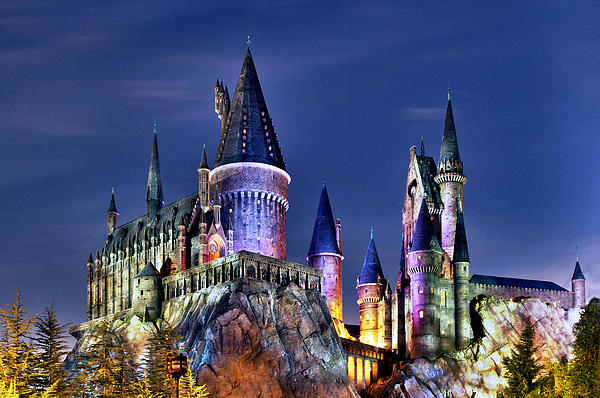 Hogwarts Print by Danny Price