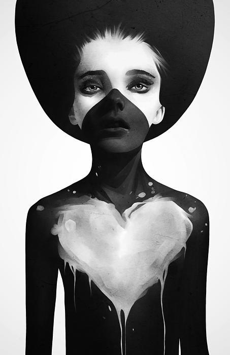 Hold On Print by Ruben Ireland