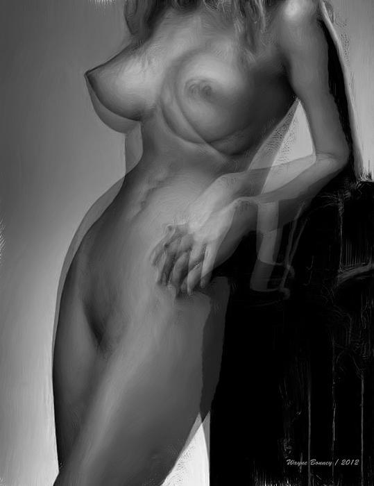 Hold On Print by Wayne Bonney