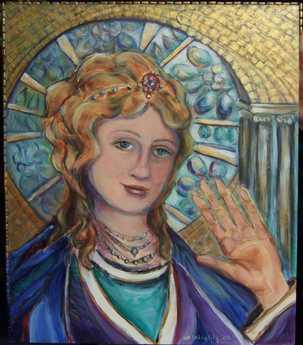 Holy Woman II Print by Lee Anne Stieglitz