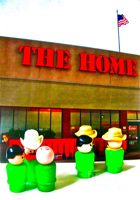 Home Away From Home Print by Ricky Sencion