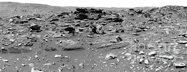 Home Plate, Mars Print by Nasa