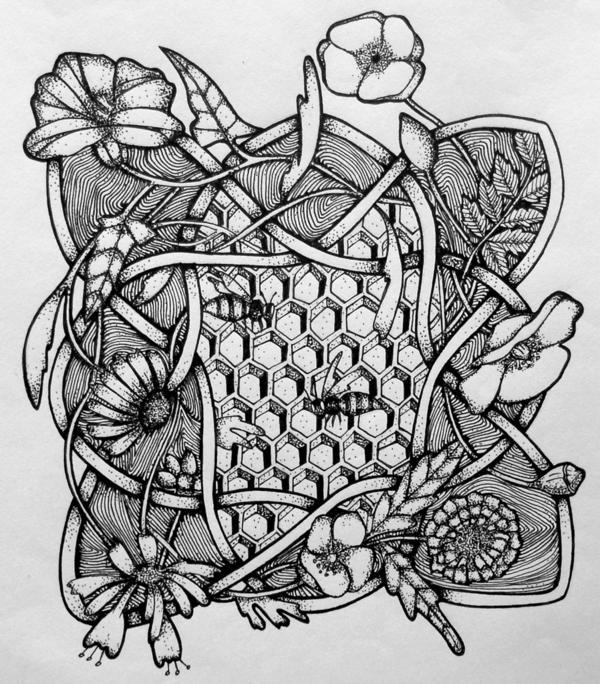 Рисунок для вязания мужских шарфов