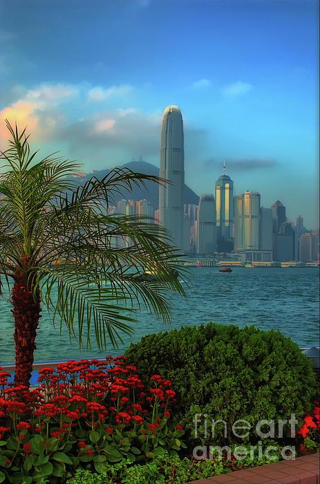 Hong Kong Mornings Print by Bibhash Chaudhuri
