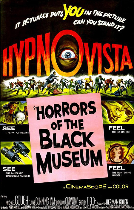 Horrors Of The Black Museum, 1959 Print by Everett