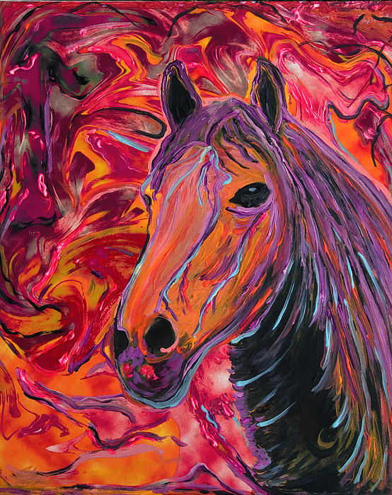 SuZ Studio - Horse Of A Different Color