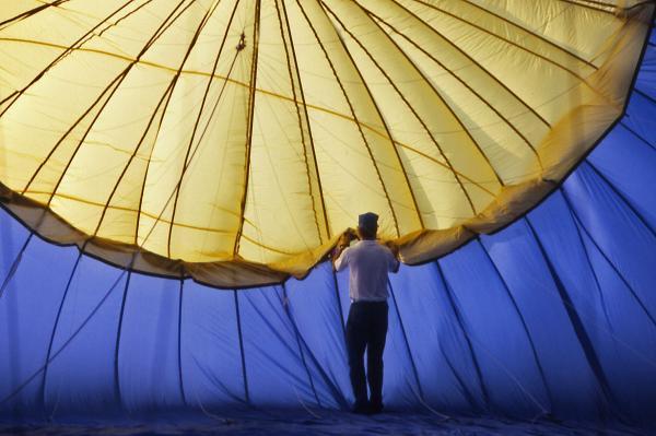 Hot Air Balloon - 11 Print by Randy Muir