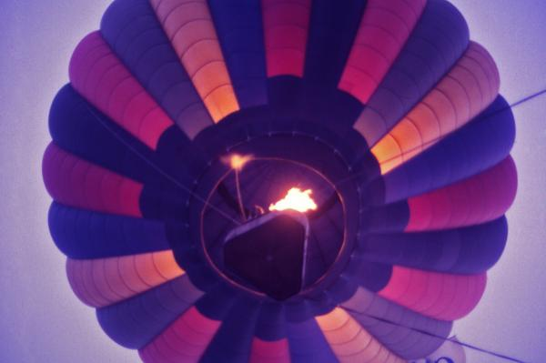 Hot Air Balloon - 7 Print by Randy Muir
