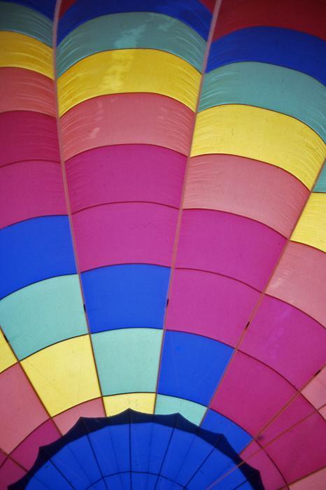 Hot Air Balloon - 9 Print by Randy Muir